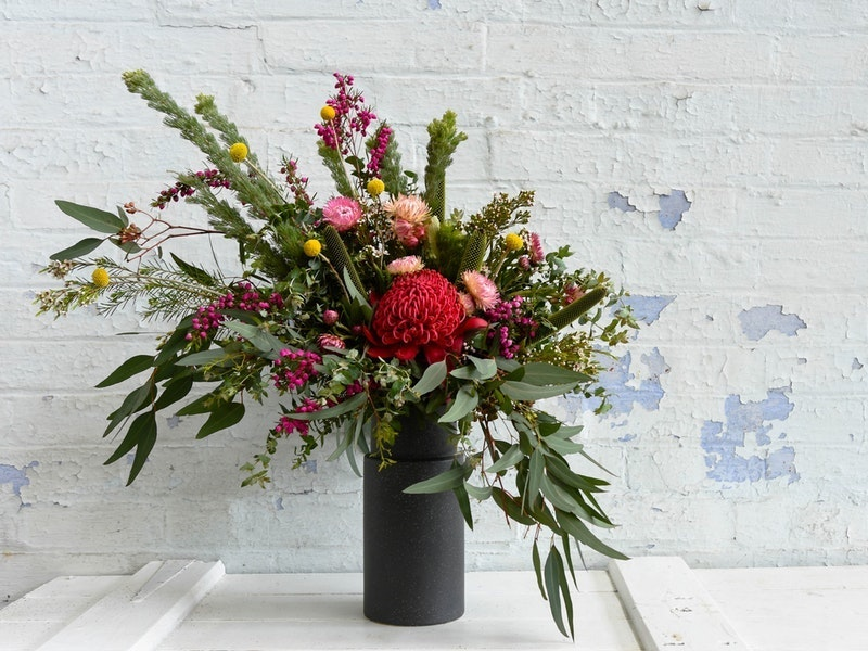 Vases of flowers for the home