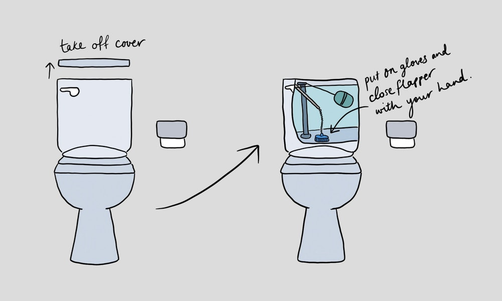 How To Stop Your Toilet From Overflowing Illustration